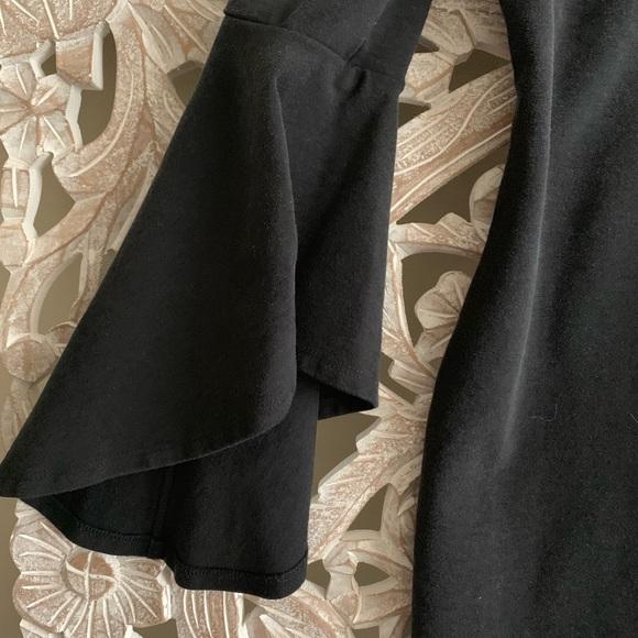 Fifteen Twenty Dresses & Skirts - Bell Sleeve Black Dress
